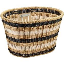Electra Plastic Woven Basket