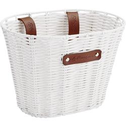 Electra Plastic Woven Small Basket