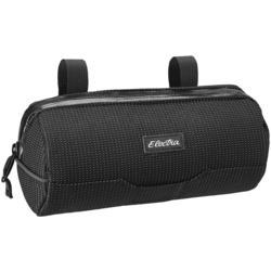 Electra Reflective Charcoal Cylinder Handlebar Bag