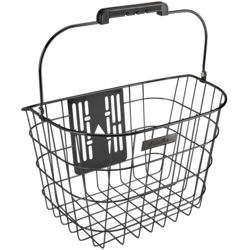 Electra Stainless Wire Front QR Basket