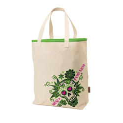 Electra Sugar Skulls Canvas Tote