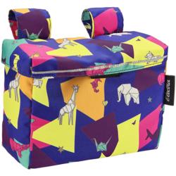 Electra Washi Velcro Handlebar Bag w/Lid