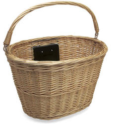 Electra Quick-Release Wicker Basket