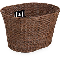 Electra Plastic Wicker Basket