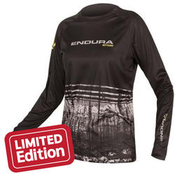 Endura Wms MT500 L/S Print T II LTD