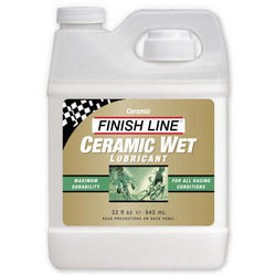 Finish Line Ceramic Wet Lubricant (32-ounce Bottle)