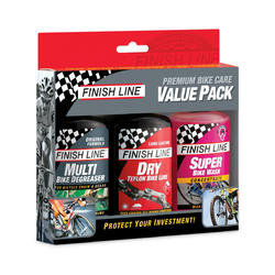 Finish Line Premium Bike Care Value Pack