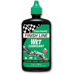 Finish Line Wet Lubricant (4-Ounce Bottle)