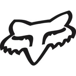 Fox Racing Foxhead TDC Sticker - 4 Inch