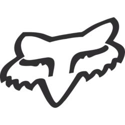 Fox Racing Foxhead TDC Sticker - 10 Inch