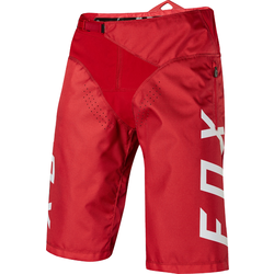 Fox Racing Demo Short - Bright Red