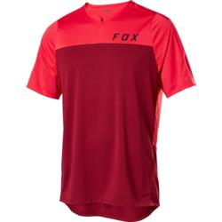Fox Racing Flexair Zip Short Sleeve Jersey