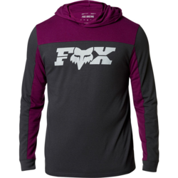Fox Racing General Hooded Tech Long-Sleeve Tee