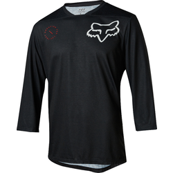 Fox Racing Indicator 3/4 Asym Jersey - Black