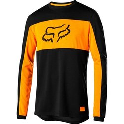 Fox Racing Ranger Drirelease Foxhead Long Sleeve Jersey - Black