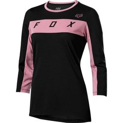 Fox Racing Women's Ranger Drirelease 3/4 Jersey - Black