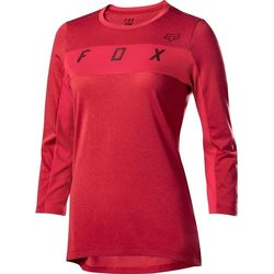 Fox Racing Women's Ranger Drirelease 3/4 Jersey - Cardinal