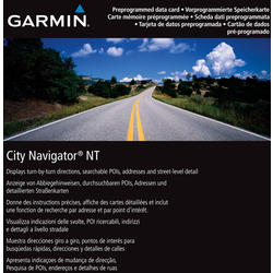Garmin City Navigator Europe NT microSD/SD Card