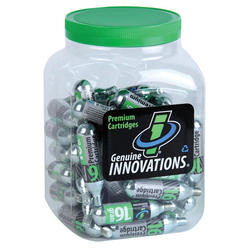 Genuine Innovations 16-Gram Threaded CO2 Cartridges (Tub of 60)