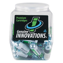 Genuine Innovations 20-Gram Threaded CO2 Cartridges (Tub of 60)