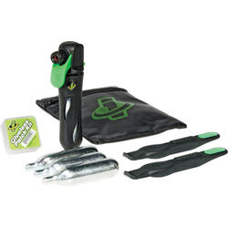 Genuine Innovations Deluxe Tire Repair & CO2 Inflation Wallet Kit