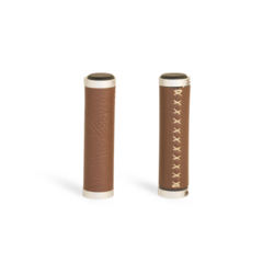 Brooklyn Bicycle Co. Luxe Walnut Vegan Leather Grips