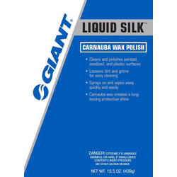Giant Liquid Silk Carnauba Wax Polish