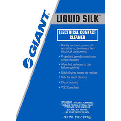 Giant Liquid Silk Electrical Contact Cleaner