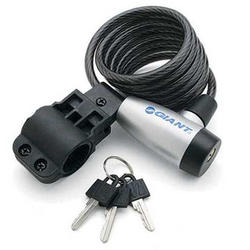 Giant SureLock Flex-Key Coil Cable Lock