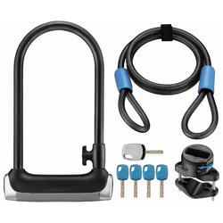 Giant Surelock Protector 1 DT U-Lock and Cable Combo Pack