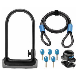 Giant SureLock Protector 2 DT U-Lock and Cable Combo Pack
