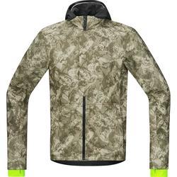 Gore Wear Element Urban Print Windstopper Soft Shell Jacket