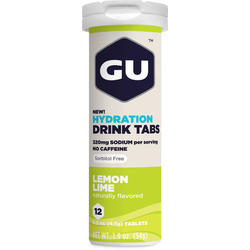 GU Hydration Drink Tabs - Lemon Lime (12 Tablets)