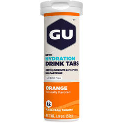 GU Hydration Drink Tabs - Orange (12 Tablets)