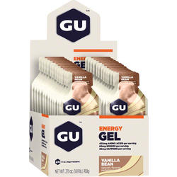 GU Energy Gel - Vanilla Bean (32g) - Box of 24