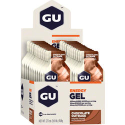 GU Energy Gel - Chocolate Outrage (32g) - Box of 24