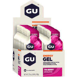 GU Energy Gel - Tri Berry (32g) - Box of 24