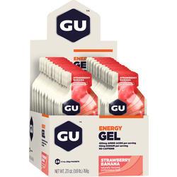 GU Energy Gel - Strawberry Banana (32g) - Box of 24