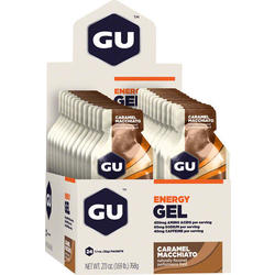 GU Energy Gel - Caramel Macchiato (32g) - Box of 24