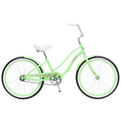 Hang Ten Girl's 24-inch Single Speed Cruiser