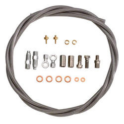 Hope Stainless Hose Kit with Fittings