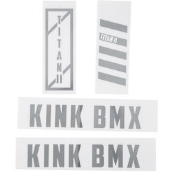 Kink Titan II Frame Decal Kit