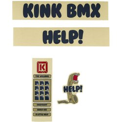 Kink Williams Frame Decal Kit