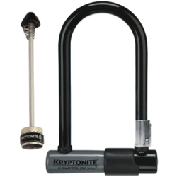 Kryptonite KryptoLok Mini-7 with Front WheelBoltz
