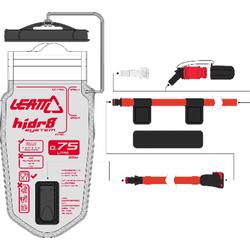 Leatt Bladder Kit Flat CleanTech 750
