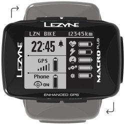 Lezyne Macro Plus GPS HRSC Loaded