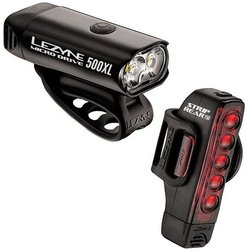 Lezyne Micro 500XL Front / Strip Drive Rear