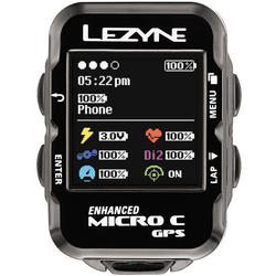 Lezyne Micro C GPS HRSC Loaded