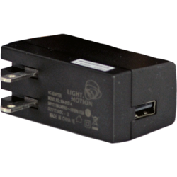 Light & Motion 2.0A USB AC Adapter