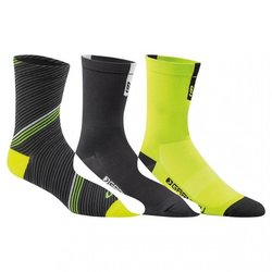 Garneau Conti Long Cycling Socks (3-Pack)